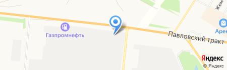 Болтик на карте Барнаула