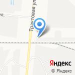 МК на карте Барнаула