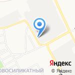 ЦВЕТМЕТ на карте Барнаула