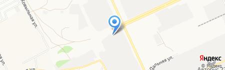 Стройгазмонтаж на карте Барнаула