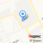 Алтайсетка на карте Барнаула