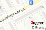 Схема проезда до компании Библиотека №14 в Барнауле