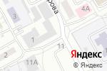 Схема проезда до компании Автомагазин кузовных запчастей в Барнауле
