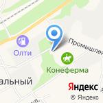 Тоса на карте Барнаула