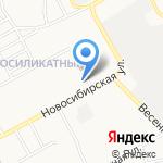 Элит+ на карте Барнаула