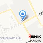 Кровельный центр на карте Барнаула