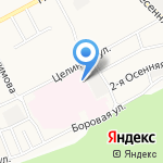 ГазТехноСтрой на карте Барнаула