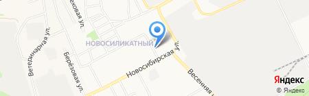 Ангелочки на карте Барнаула