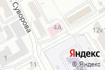 Схема проезда до компании Городская поликлиника №12 в Барнауле