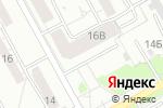 Схема проезда до компании Центр Современного Кадастра в Барнауле