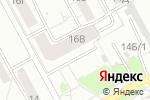 Схема проезда до компании BronZa в Барнауле