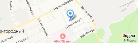 Детский сад №243 Родничок на карте Барнаула