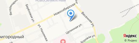 Детский дом №6 на карте Барнаула