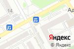 Схема проезда до компании АктивДеньги в Барнауле