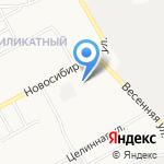 Лакомка на карте Барнаула
