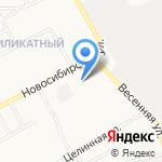 Звезда Алтая на карте Барнаула