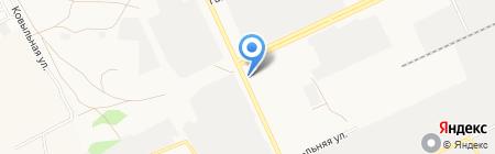 Пивбар на карте Барнаула