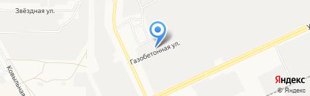 Стар Коммэн на карте Барнаула