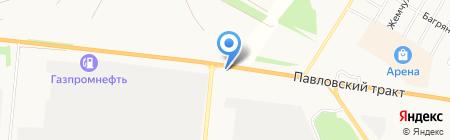 Отделение дорожной инспекции и организации дорожного движения УМВД по г. Барнаулу на карте Барнаула