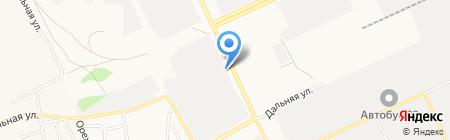 АВТО ПРОФИ СЕРВИС на карте Барнаула
