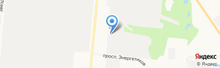 Адвертинтерком на карте Барнаула
