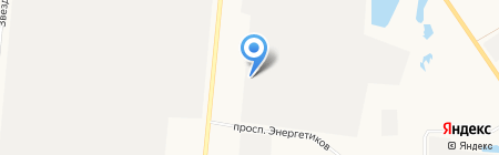 АлтайСпецИзделия на карте Барнаула