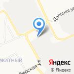 Сибирь Контракт на карте Барнаула