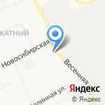 Отдел полиции №7 Управления МВД России по г. Барнаулу на карте Барнаула