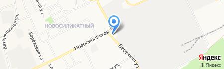 Пироговъ на карте Барнаула