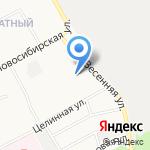 Сытый муж на карте Барнаула