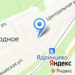 Ермак на карте Барнаула