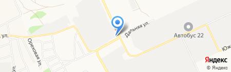АлтайГидроМастер на карте Барнаула