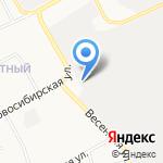 Подряд-1 на карте Барнаула