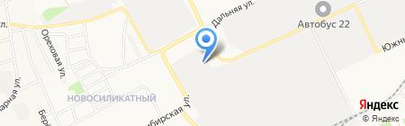 СибНефтеПром на карте Барнаула