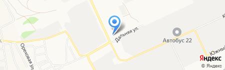 Городок на карте Барнаула