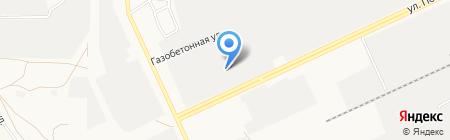Сибирь-Техника на карте Барнаула