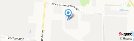 Нефрит на карте Барнаула