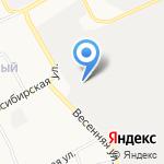 Ремзона на карте Барнаула