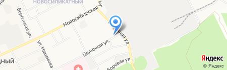 Аварийная служба на карте Барнаула