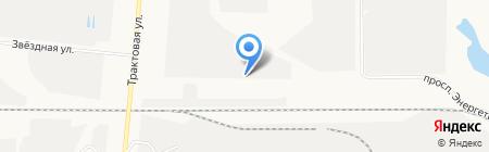РЭС-Холдинг на карте Барнаула