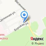 Алтай-камень на карте Барнаула
