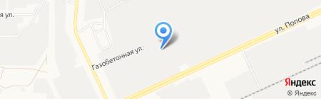 ВИГО на карте Барнаула