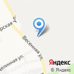 Бриг на карте Барнаула