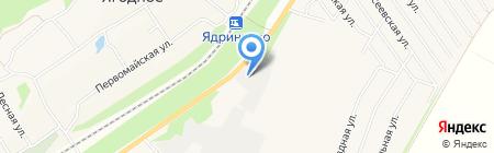 Алтай Дом Лес на карте Барнаула