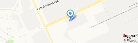 Источник на карте Барнаула