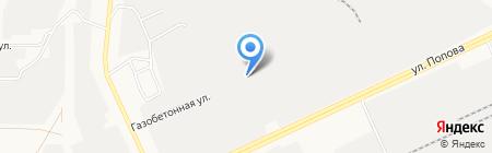 МеталлКомплект на карте Барнаула