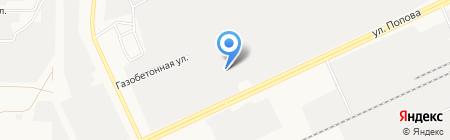 Алтай Альянс на карте Барнаула