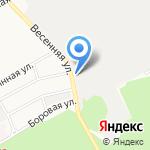 Дельрус на карте Барнаула