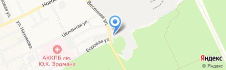 ТрансКомплект на карте Барнаула