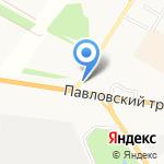 Сибирская Сырьевая Компания на карте Барнаула
